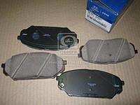 Колодки тормозные дисковые передние Hyundai Veracruz 06- (производство Mobis) (арт. 581013JA01), AGHZX