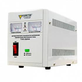 Стабилизатор релейный Forte  (1 Ф) - TVR-500VA (500Вт)