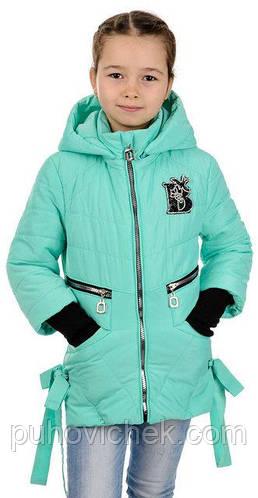 Демисезонная курточка для девочки стильная от производителя