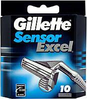 Сменные кассеты Gillette Sensor Excel, на 2 лезвия (10шт.)