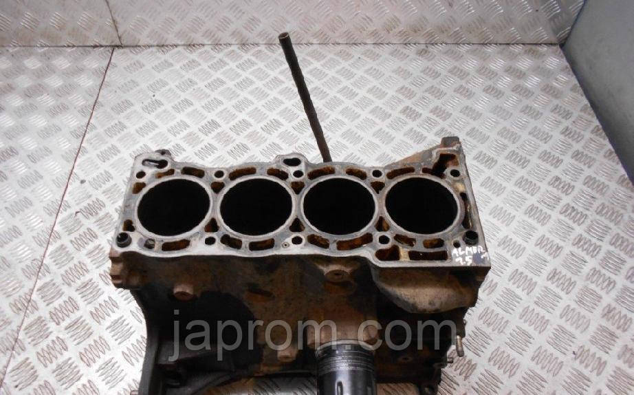 Блок цилиндров (двигателя) Nissan Almera N16 2000-2006г.в 1.5 бензин