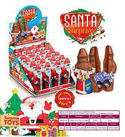 Шоколадная фигурка Дед Мороз с сюрпризом 24 шт. 38 г