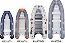 Фирменная килевая лодка Kolibri КМ-400D SL, фото 3