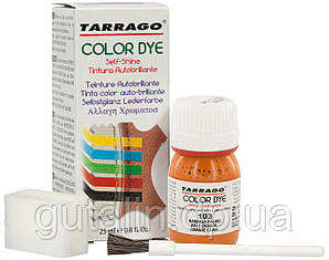 Барвник для гладкої шкіри та текстилю Tarrago Color Dye 25 мл колір темно оранжевий (103)