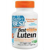Doctor's Best, Лютеин плюс зааксантин и криптоксантин, 20 мг, 120 капсул