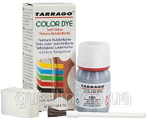Барвник для гладкої шкіри та текстилю Tarrago Color Dye 25 мл колір яскраво срібний металік (106)