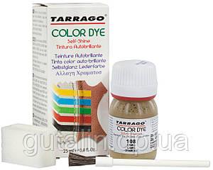 Барвник для гладкої шкіри та текстилю Tarrago Color Dye 25 мл колір верблюд (108)