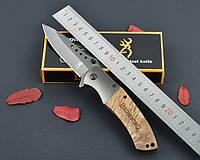 Нож Browning, титановое покрытие, полуавтоматический механизм, ХИТ ПРОДАЖ, подарок для парня, фото 1