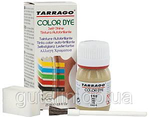 Барвник для гладкої шкіри та текстилю Tarrago Color Dye 25 мл колір сосна (118)