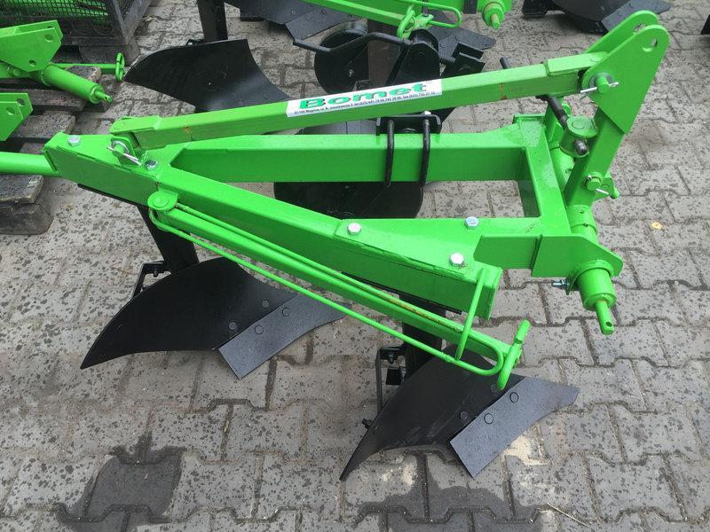 Плуг для трактора, Bomet 2×30, стойка плуга 600