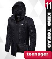 11 Kiro Tokao | Весенне-осенняя парка подростковая японская 66207-1 черный