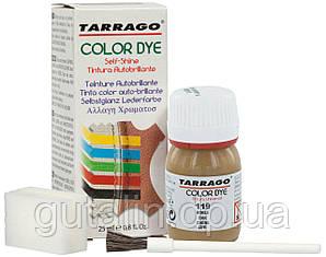 Барвник для гладкої шкіри та текстилю Tarrago Color Dye 25 мл колір дуб (119)