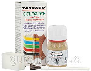 Барвник для гладкої шкіри та текстилю Tarrago Color Dye 25 мл колір бук (120)