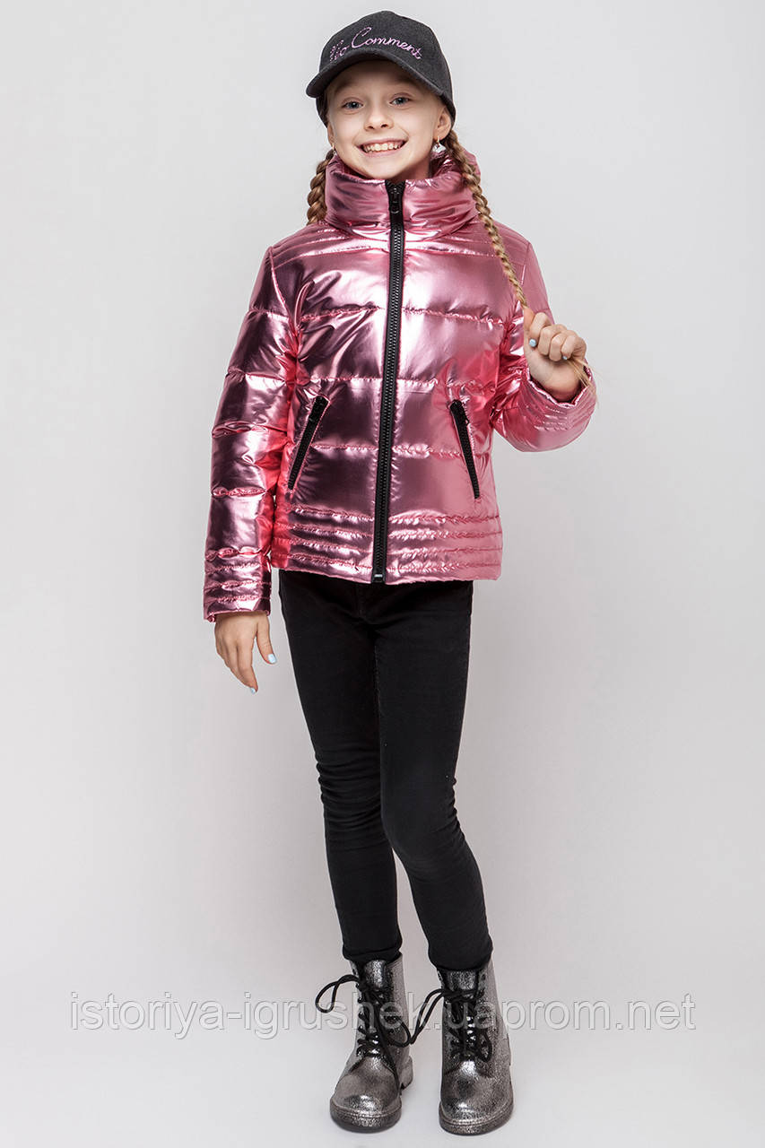 Весенняя куртка для девочки vkd-9 в ассортименте