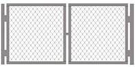 Монтаж распашных ворот и из металла | Цена установки и изготовление ворот от производителя