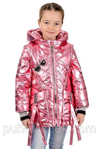 Модная курточка для девочки весна