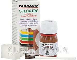 Барвник для гладкої шкіри та текстилю Tarrago Color Dye 25 мл колір волоський горіх (121)