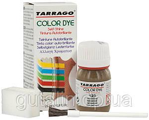 Барвник для гладкої шкіри та текстилю Tarrago Color Dye 25 мл колір антрацитовий (123)