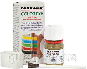 Барвник для гладкої шкіри та текстилю Tarrago Color Dye 25 мл колір старе золото (504)