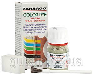 Барвник для гладкої шкіри та текстилю Tarrago Color Dye 25 мл колір платиновий (506)