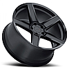 TSW ASCENT Matte Gunmetal with Gloss Black Face, фото 2