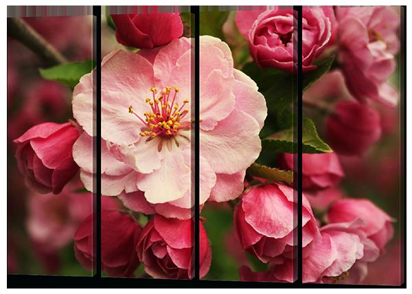 Модульная картина Розовый цветок