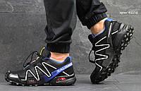 Кроссовки Salomon Speedcross 3 черные с белым