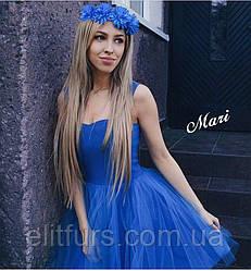 Платье нарядное, с пышной фатиновой юбкой + (4 цвета)