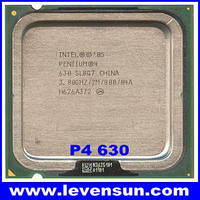 Процессор Intel Pentium 4 630, 3,0 GHZ/2M/800