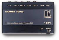 Усилитель-распределитель 1:5 композитных видеосигналов Kramer 105V