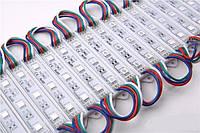 Светодиодный модуль RGB 3LED SMD5050 IP 65