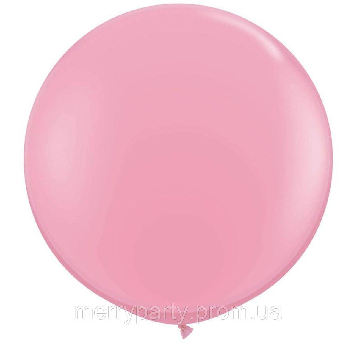 """36"""" (100 см) пастель нежно-розовый Pink Qualatex США латексный шар"""