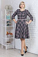 Платье в клетку на каждый день Дорис, фото 1