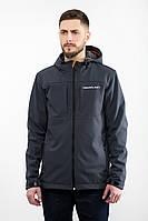 Куртка мужская ветровка Urban Planet WM7 SOFTSHELL серая XS S XL XXL XXXL