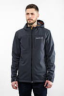 Куртка мужская ветровка WM7 SOFTSHELL Urban Planet серая (мужская куртка, ветровка мужская, куртка чоловіча)