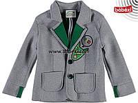Демисезонный стильный пиджак на мальчика 5, 6, 7, 8 лет.Турция!!Верхняя одежда мальчикам