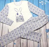 "Женская пижама ""Зайка"" 48 (уценка)"