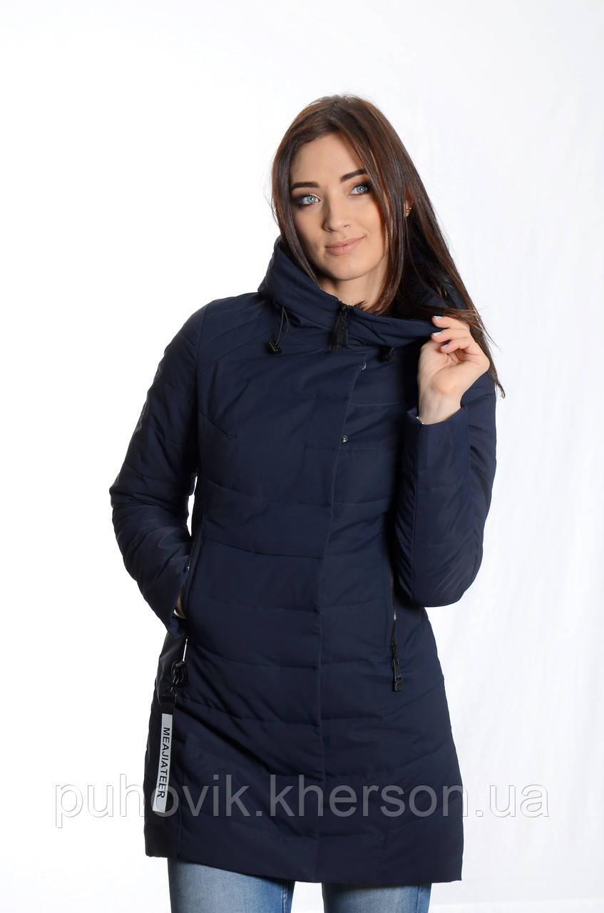 4274231a8a2 Куртка женская деми Meajiateer M1807 т.синий -