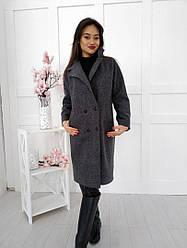 Пальто весеннее, шерсть + (3 цвета)