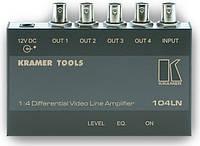 Акция!!!!! Усилитель-распределитель 1:4 композитных видеосигналов Kramer 104LN со скидкой!!!!