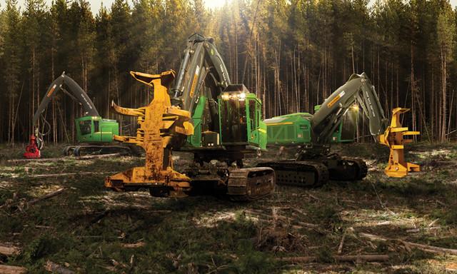 Лесозаготовительная техника: импортные машины б/у – недорого и надежно