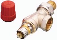Термостатический клапан осевой Danfoss RA-N 15 для двухтрубной системы отопления