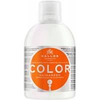 Шампунь Kallos Color с льняным маслом (1л.)