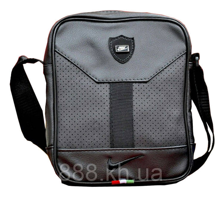 0a02dc9b3 Мужская сумка Nike, мессенджер, сумка на плече, кожаная сумка через плече  реплика -