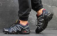 Salomon Speedcross 3 кроссовки мужские темно-синие Вьетнам