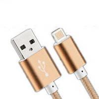 USB Кабель для Iphone 5/5S/6/6+ с LED индикатором зарядки