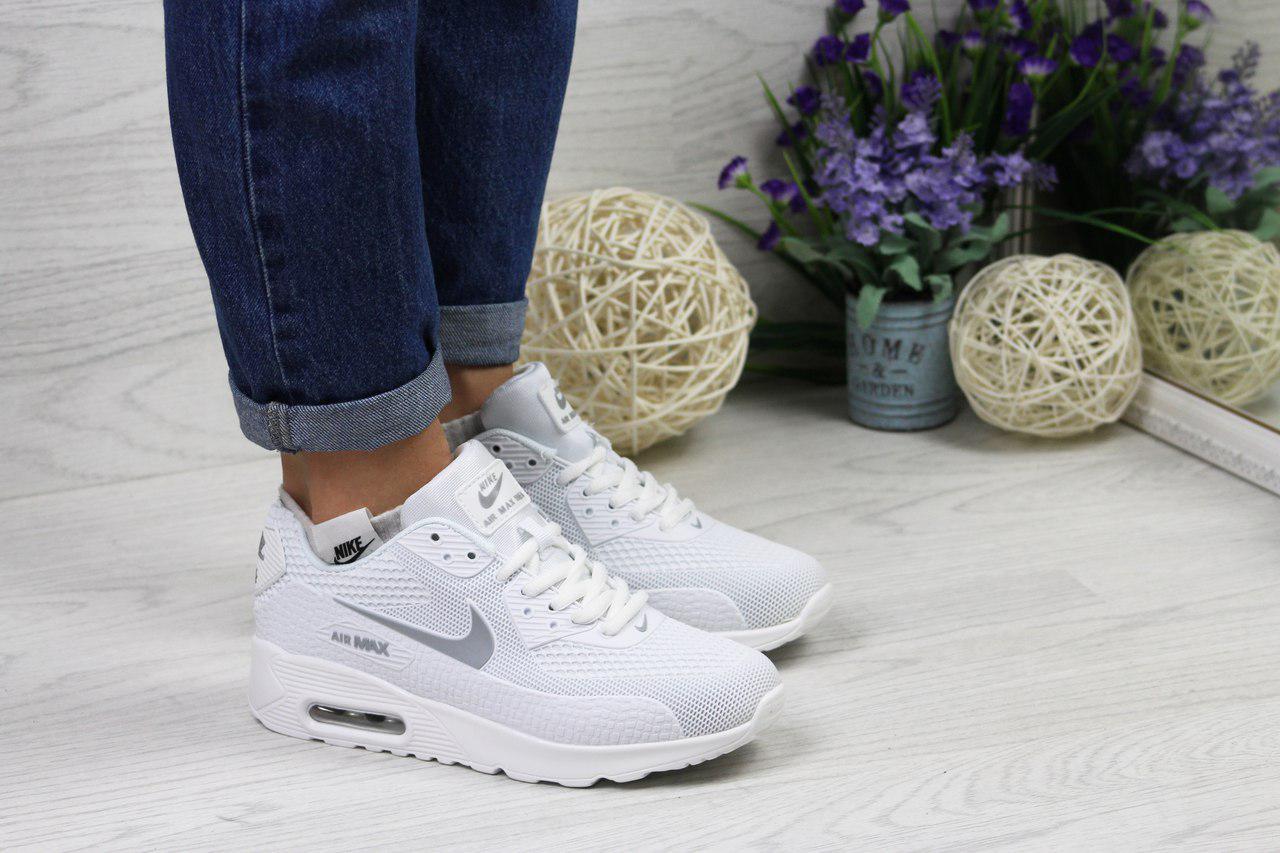 Кросівки жіночі Nike Air Max Thea (білі), ТОП-репліка