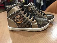 Ботинки для девочки, золото