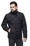 Мужская демисезонная куртка классическая, фото 5