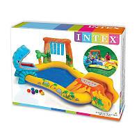 Надувной игровой комплекс Intex